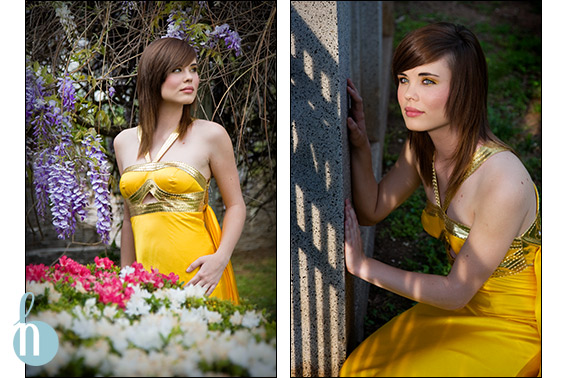 Stephanie's Post-Prom Portrait Photographs